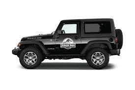 Jurassic Park Jeep Decal Sticker Etsy