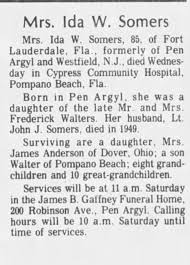 Ida Walters Somers - Newspapers.com