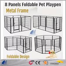 China 8 Panel Expandable Indoor Metal Folding Dog Kennel And Run Fence Panels Photos Pictures Made In China Com