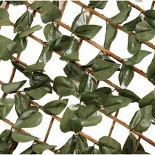 Artificial Ivy Leaf Willow Trellis Expandable Privacy Fence 1x2m 24 99 Oypla Stocking The Very Best In Toys Electrical Furniture Homeware Garden Gifts And Much More