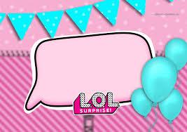 Lol Surprise Invitaciones Para Imprimir Gratis Ideas Y Material Gratis Para Fiestas Y Celebraciones Oh My Fiesta