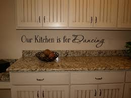 Kitchen Is For Dancing Wall Decal Trading Phrases