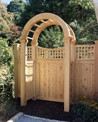Rfc Fence Custom Wood Gates And Arbors