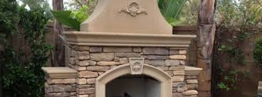 concrete outdoor fireplace kit