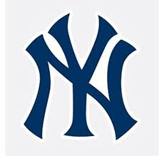 Amazon Com New York Yankees Ny Logo Baseball Vinyl Decal 4 Car Truck Window Sticker Automotive