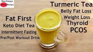 turmeric tea for weight loss
