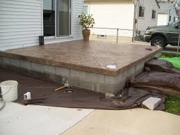 is there a concrete stain to use on