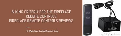 fireplace remote control reviews