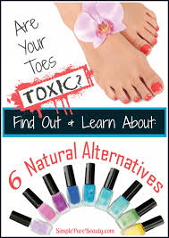 non toxic natural nail polish alternatives