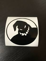 My Family Is A Nightmare Before Christmas Disney Vinyl Window Sticker Decal For Sale Online Ebay