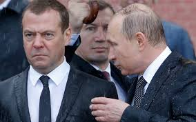 Russian internet users ponder what Vladimir Putin told grumpy Dmitry  Medvedev
