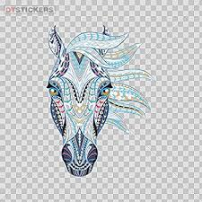 3 6 Or 8 5 Patterned Peacock Car Bumper Sticker Decal