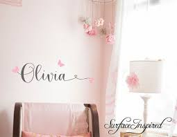 Etsy Wall Decals Personalised Names Nursery Decals Girl Or Boy Ad Personalized Wall Decals Kids Wall Decals Nursery Wall Decals