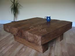 4 beam square coffee table coffee