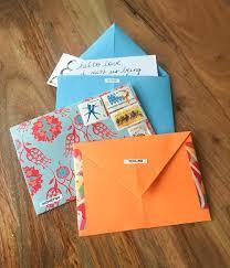 homemade envelopes snail mail social