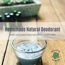 homemade natural deodorant beautiful
