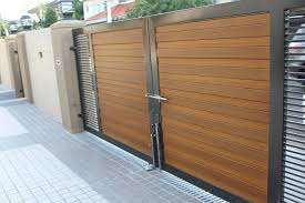 Gate Fence Cladding Project Of Csi Biowood Interiors Philippines Facebook