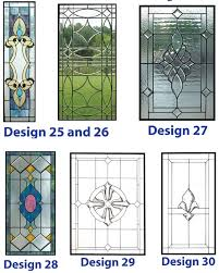 stained and leaded glass windows for