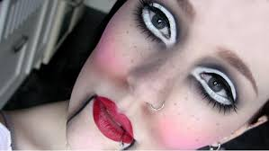 marionette doll costume makeup