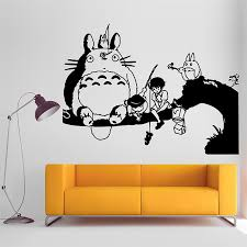 My Neighbor Totoro And Whale Rider Vinyl Wall Art Decal