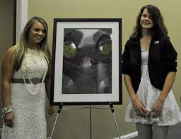 Pickens Middle Student's Artwork Added To Superintendent's Gallery |  Easley, SC Patch