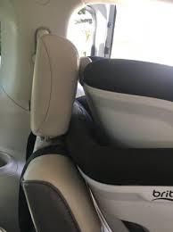 car seat headrest forward