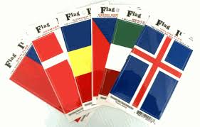 World Flag Stickers Country Flag Decals International Decal Sticker Waterproof Vinyl Stickers On Sale Cheap