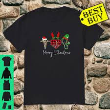 Official nurse merry Christmas leopard print and buffalo plaid ...