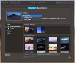 macos mojave s new dynamic desktop