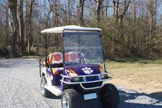 20 Clemson Golf Cart Ideas Clemson Clemson Tigers Golf Carts