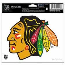 Chicago Blackhawks Stickers Decals Bumper Stickers