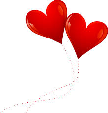red heart balloons png png 250