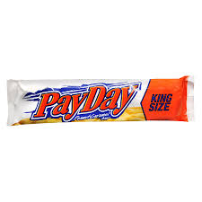 payday candy bar king size peanut