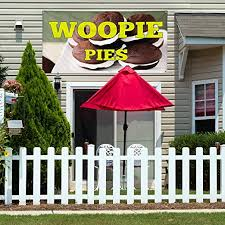 Amazon Com Vinyl Banner Sign Woopie Pies 3 Restaurant Food Woopie Pies Outdoor Marketing Advertising White 48inx120in 8 Grommets Set Of 2 Office Products