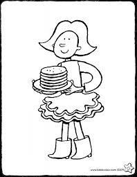 """Afbeeldingsresultaat voor pannenkoeken bakken tekening"""""""