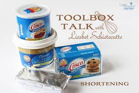 toolbox talk shortening cookie