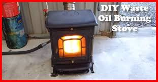 waste oil s into home or