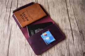 personalized leather field notes book