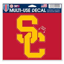 University Of Southern California Car Decals Decal Sets Usc Trojans Car Decal Shop Usctrojans Com