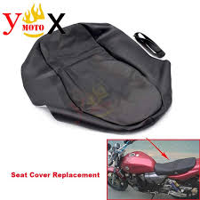 2020 thick black pu leather motorcycle