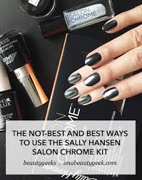 how to diy chrome nails at home over