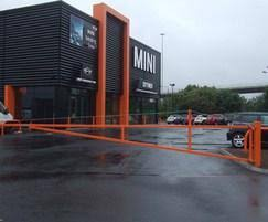 Swing Barrier Gates External Works