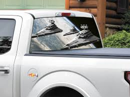 Star Destroyer Star Wars Rear Window Decal Sticker Pick Up Truck Suv Car Any Size