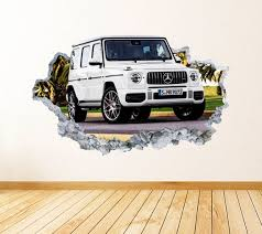 Mercedes G Class Wall Art Decal Racing Theme Wall Decor Etsy