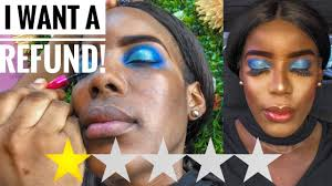 i went to the worst reviewed make up