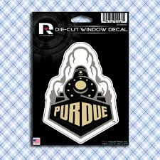 Purdue Boilermakers Car Window Decals Stickers