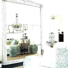 big leaning wall mirror oversized large