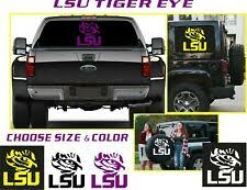 White Lsu Tigers Ncaa Decals For Sale Ebay