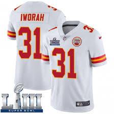 Prince Charles Iworah Men's Kansas City Chiefs Nike Super Bowl LIII Vapor  Untouchable Jersey - Limited White