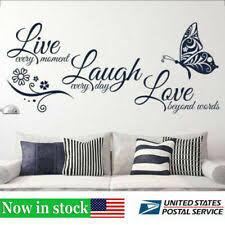 Wall Quotes For Sale In Stock Ebay